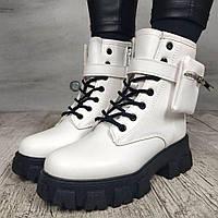 Ботинки женские Violeta Wonex C072-2 WHITE