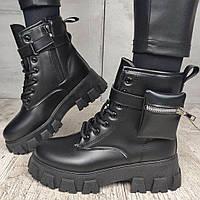 Ботинки женские Violeta Wonex C072-1 BLACK