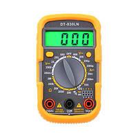 Мультиметр АВаТар DT-830 LN з підсвічуванням та звуком
