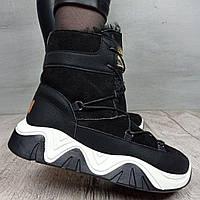 Ботинки женские Violeta Wonex A08 BLACK