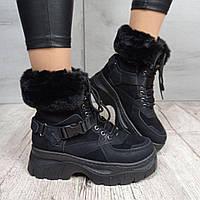 Ботинки женские Violeta Wonex 1812-1 BLACK
