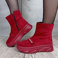 Ботинки женские Violeta Wonex 168-46-3 RED