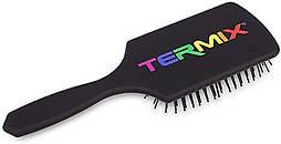 Масажна щітка для волосся чорна Termix Pride Edition