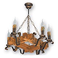 Люстра підвісна 6 свічок Е14 серії Lilia 340926