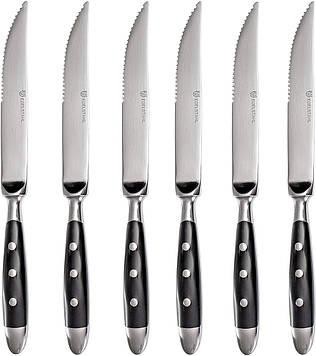 Набор ножей для стейка Gräwe Nürnberg 6 предметов, черные