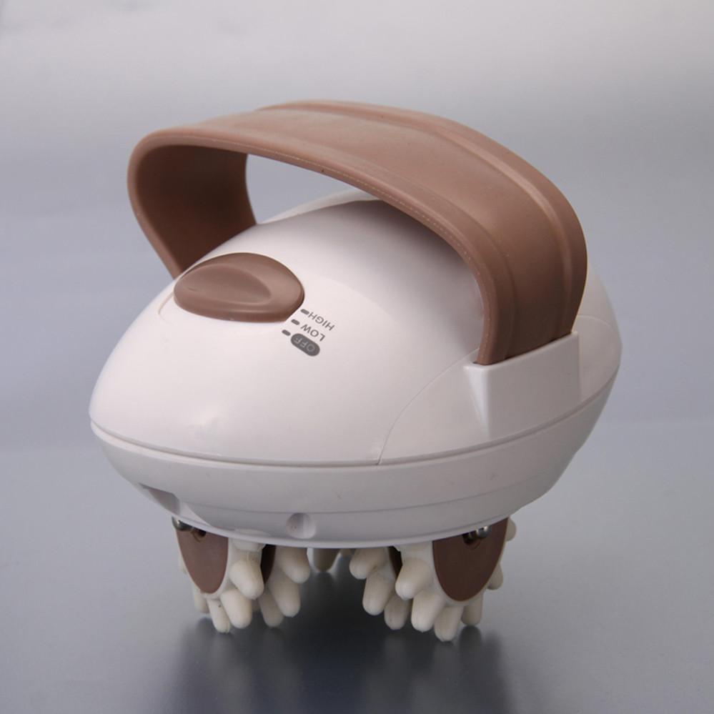 Вибромассажер Антицеллюлитный Портативный Ручной Домашний от сети с роликами BENICE BODY SLIMMER електрический