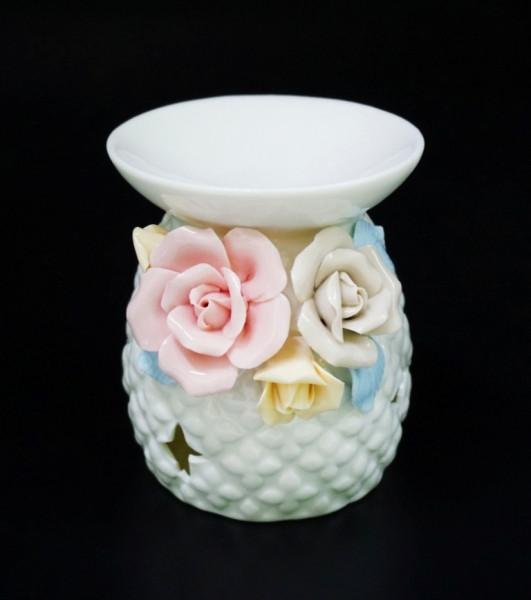 """Аромалампа керамічна з квітами """"3B"""""""