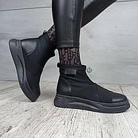 Ботинки женские Kamengsi B355 All BLACK