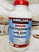 Глюкозамин Kirkland glucosamine и MSM, 375шт