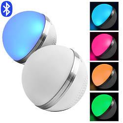 Портативная Bluetooth колонка HAPPY MUSIC BOLL M8, speakerphone, шар матовый