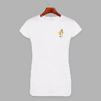 Женская футболка с принтом Веточка (1505)