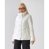 Белая женская куртка весна 42-52