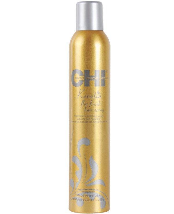 Лак для волос сильной и эластичной фиксации CHI Keratin Flexible Hold Hair Spray, 284г