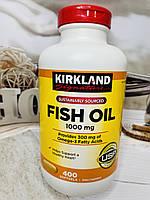 Рыбий жир Kirkland Fish Oil Omega 3, 400штук