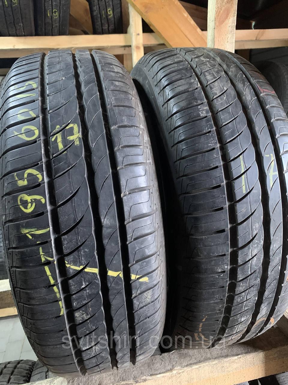 Літні шини 195/60R15 Pirelli Cinturato p7 verde 6.5мм 17рік