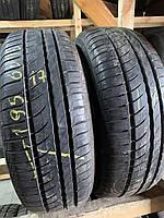 Літні шини 195/60R15 Pirelli Cinturato p7 verde 6.5мм 17рік, фото 1