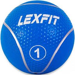Медбол USA Style LEXFIT голуб.1кг, LMB-8017-1
