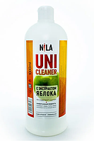 Универсальная жидкость Nila Uni-Cleaner без ацетона для очистки 1000 мл. зеленое яблоко