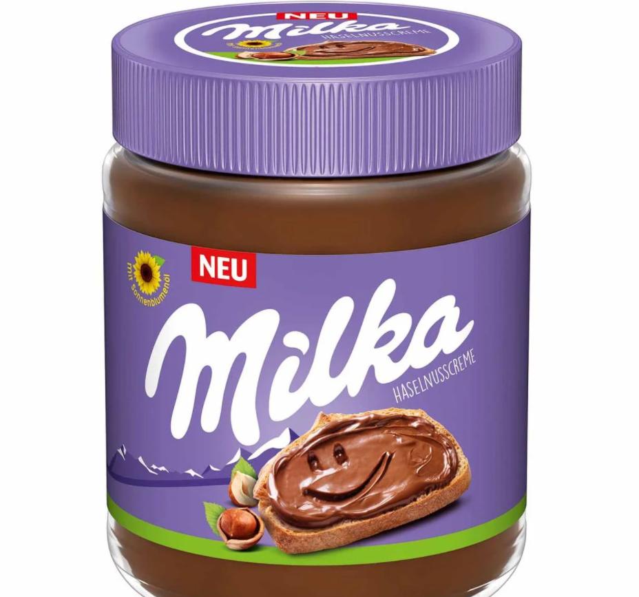 Шоколадно - горіхова паста Milka Haselnusscreme 600 г.
