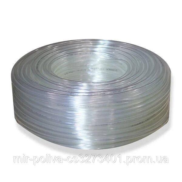 Шланг харчової армований Symmer Сrystaltex внутрішній діаметр 6 мм, товщина стінки 2.5 мм, 50 м