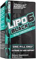 Жироспалювач - Nutrex Lipo-6 Black Hers Ultra Concentrate / 60 caps