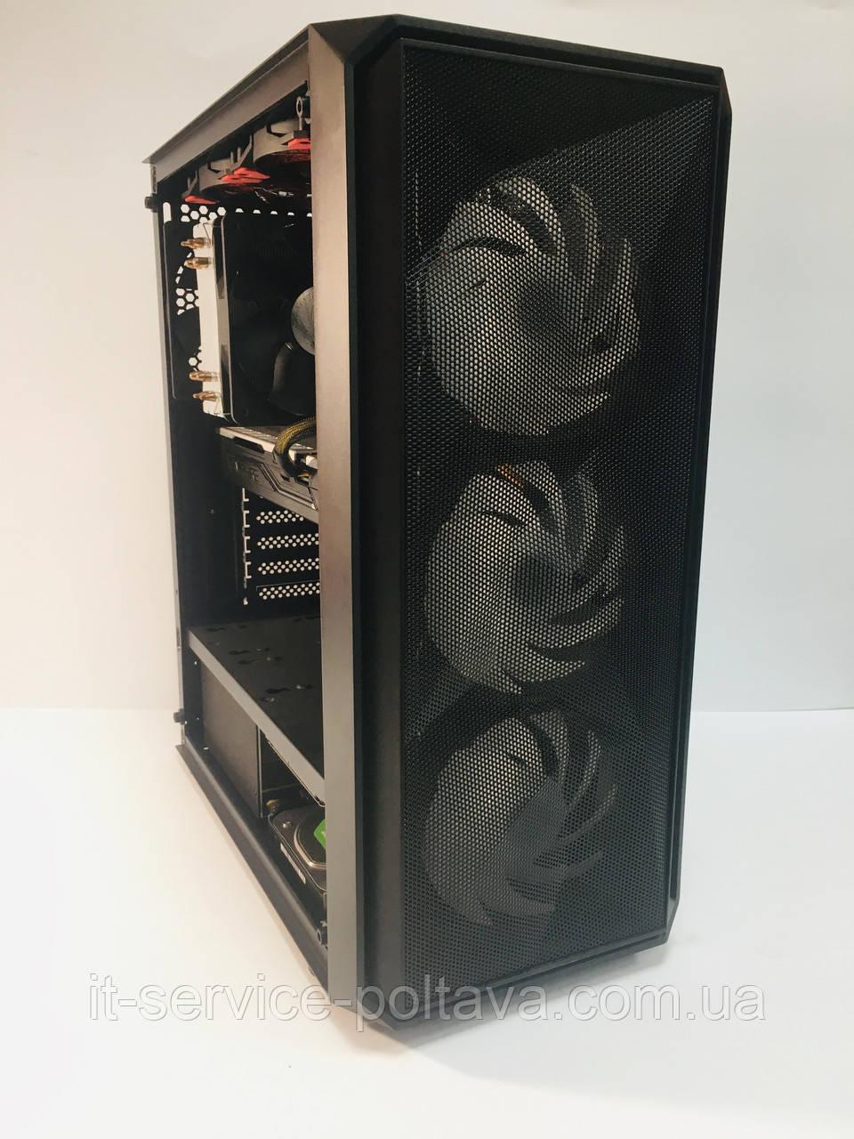 Ігровий комп'ютер Frontier SHURI Intel Core i5-6400 2.7 GHz; ОЗУ 16 Gb; GPU RX 570;