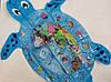 """Надувной детский развивающий водный коврик """"Черепашка"""", фото 4"""