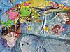 """Надувной детский развивающий водный коврик """"Черепашка"""", фото 2"""