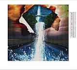 Алмазна вишивка мозаїка Diy Об'єднання світів 30х30см 30кольорів повна зашивка квадратні стрази. Набір алмазної вишивки, фото 3