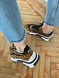 Стильные женские кроссовки ASH Leopard, фото 6