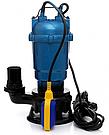 Фекальный насос 1,5 кВт + рукав 50мм с гайками, с измельчителем GRAND water WQD 12 метров подъем, фото 5