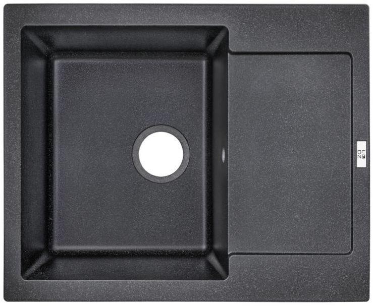 Кухонні мийки Lidz Кухонна мийка Lidz 625x500/200 BLA-03 LIDZBLA03625500200 чорна