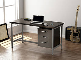 """Письмовий стіл 130см """"L-45"""" Loft design (4 варіанти кольорів)"""