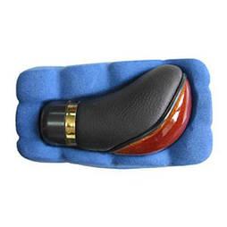 Ручка к/п декоративная Vitol (F 25030 MP) темное дерево/кожа (F 25030 MP)