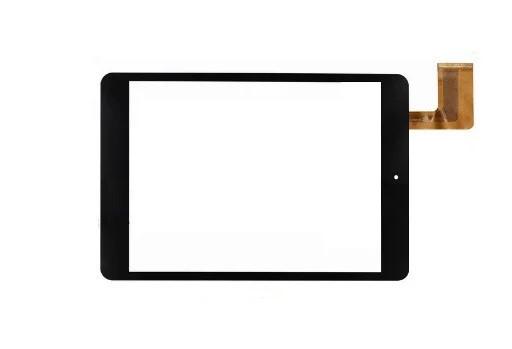 """Оригинальный Cенсор (Тачскрин) для планшета 7.85"""" Icoo iCou Fatty 3G (197*132 мм, 45pin) (Черный-Самоклейка)"""