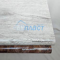 Підвіконня PLASTOLIT (Пластоліт) матове білий дуб
