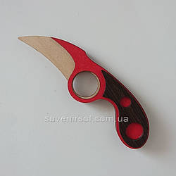 Деревянный нож №6