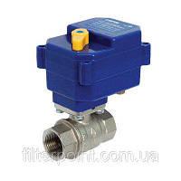Кран шаровой для блокировки подачи воды с электроприводом Neptun Bugatti Pro 220В 1/2