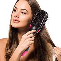 Фен-браш с расческой, щетка для укладки волос One Step Hair Dryer, расческа выпрямитель волос (фен-щітка) (TI)