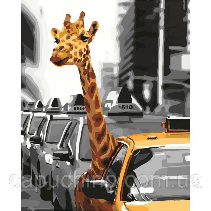Картина малювання за номерами Ідейка Життя у мегаполiсi КНО4178 40х50см набір для розпису, фарби, пензлі, полотно