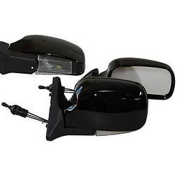 Зеркало боковое ЗБ 3107П/LADA 04,05,07/BLACK/LED черн/пов (ЗБ 3107П BLACK/LED)