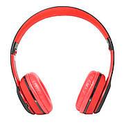 Наушники беспроводные накладные с микрофоном Havit HV-H2575BT Bluetooth Черный / Красный