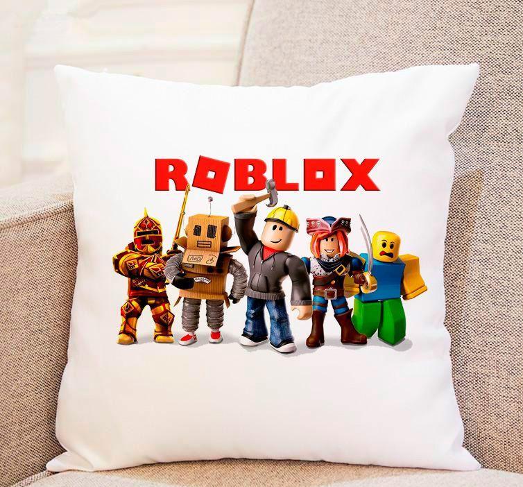 """Трендові подушки – суперовий подарунок коханій людині 35*35 см """"ROBLOX"""""""