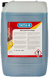 Горячий полимерный воск NERTA BRILIANT HOT FINISH для сушки и защиты автомобиля после мойки 5л