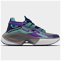 Женские кроссовки Nike Signal D/MS/X Purple Blue, разноцветные кроссовки найк сигнал