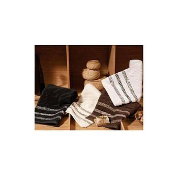 Полотенце Shamrock - Niobe кремово-коричневый 50*90