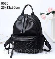 Стильный молодёжный  рюкзак из натуральной кожи. Кожаный рюкзак универсальный женский.
