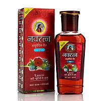 Аюрведическое масло для волос и массажа, Навратна / Navratna oil / 100 ml