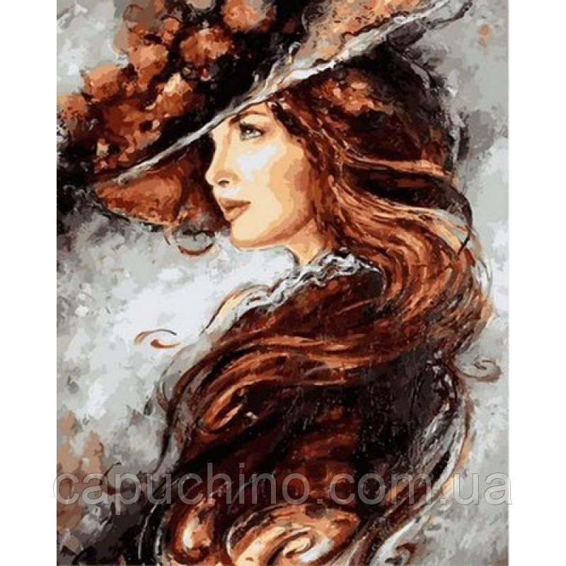 Картина малювання за номерами Babylon Таємнича VP1070 40х50см набір для розпису, фарби, кисті, полотно