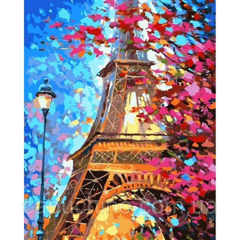 Картина рисование по номерам Babylon Краски весеннего Парижа. Худ. Леонид Афремов 40х50см VP612 набор для